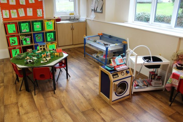 Photo of the Fish Room at Nursery Rhymes Day Nursery Chesterfield