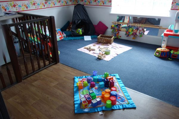 Photograph of the inside of the Baby Room
